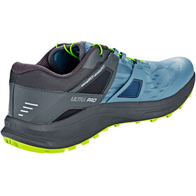 Salomon Ultra Pro Shoes Men bluestone/ebony/acid lime